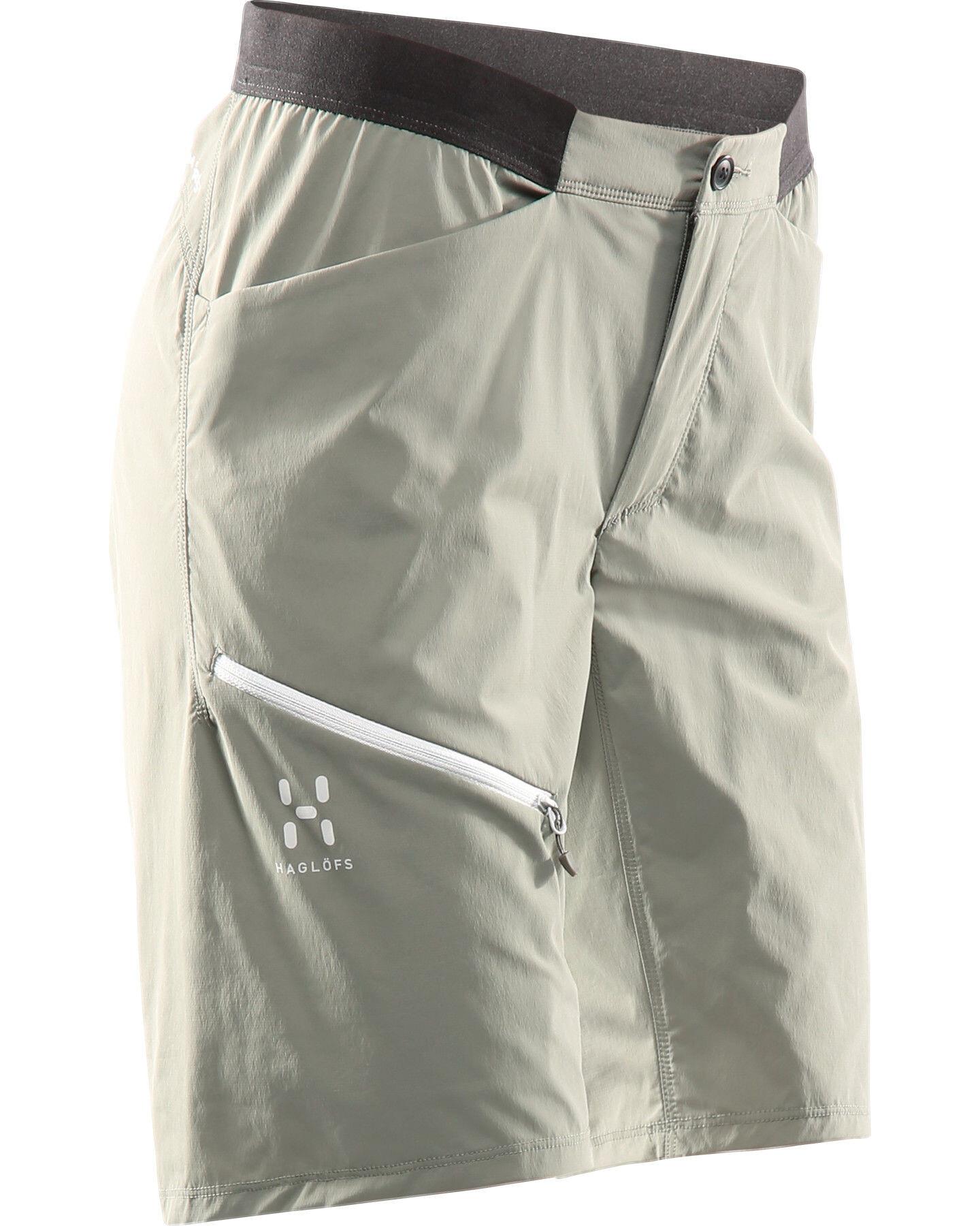 12b11bacd94 Haglöfs L.I.M Fuse Bukser korte Damer, lite beluga | Find outdoortøj ...